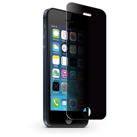 19471 tempered glass screen protector iphone 5 premium privacy tempered glass screen protector iphone 5 5s 5c 19471