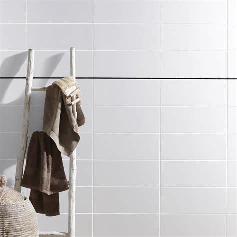 fa 239 ence mur blanc basic l 20 x l 50 cm leroy merlin