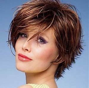Coupe Mi Courte Femme : coupe de cheveux court femme 45 ans ~ Nature-et-papiers.com Idées de Décoration