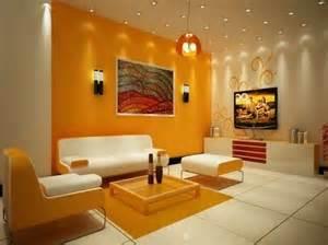 wall color combinations orange wall white furniture http 1decor net creative