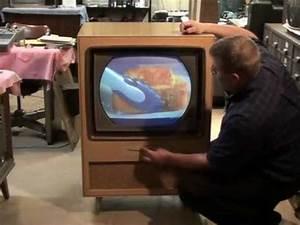 Watch A 1956 Rca Victor Ctc-5 Color Television    U0026quot Roundie U0026quot