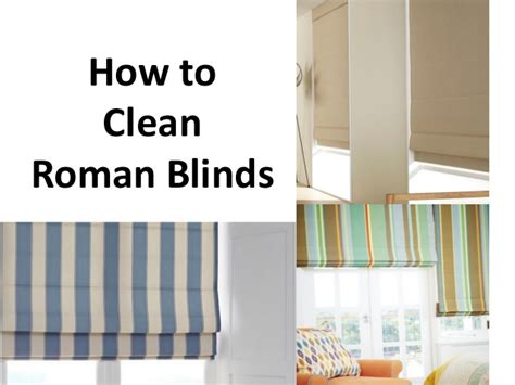 how to clean l shades how to clean roman blinds
