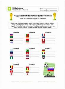Wm 2018 Flaggen : neu ein kostenloses arbeitsblatt zur fu ball wm 2018 in ~ Kayakingforconservation.com Haus und Dekorationen