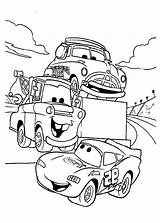 Coloring Mcqueen Pages Mater Lightning Tow Tractor Deere Lighting John Printable Cars Say Hallo Disney Sheets Tokyo Lightening Crew Getcolorings sketch template