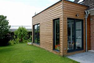 Maison En Bois Nord : diverses extensions bois amiot arnoux architectes ~ Nature-et-papiers.com Idées de Décoration