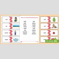 * New * Phase 5 Ea Words Matching Cards