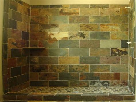 slate tile bathroom shower bathroom design ideas and more