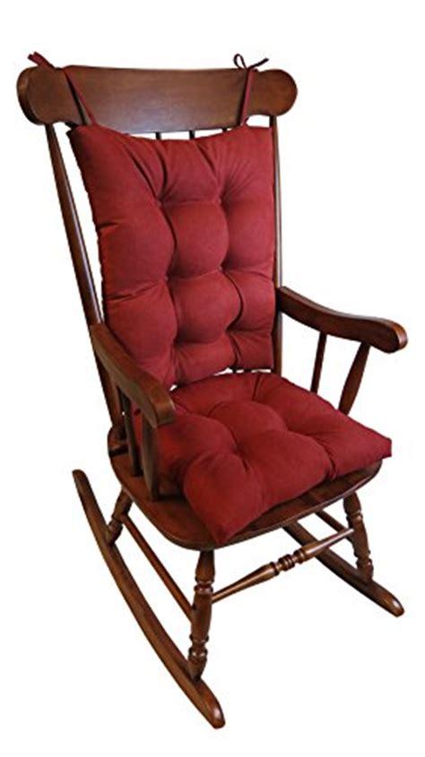 the gripper non slip rocking chair cushion set honeycomb