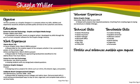 graphic design resume objective sle graphic designer resume objective