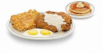 Ihop Steak Eggs Fried Breakfast Country Tgif