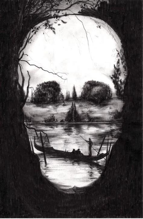 Skull Art Woods Nature Tats Such Pinterest