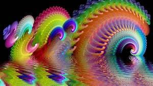 psychedelic, 3d, fractal, digital, art, hd, trippy, wallpapers