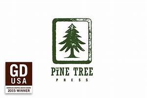 Pine Tree Press Logo on Behance
