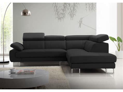 canape com canapé d 39 angle en cuir de vachette 5 coloris colisee