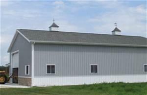 detached garage 40x72 milmar pole buildings With 40x72 pole barn