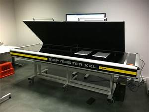 2014 august installation of the sma map master now named With large format document scanner