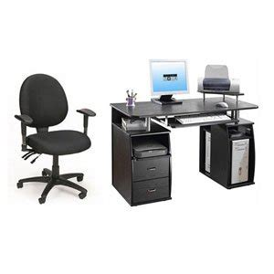 computer desk and chair combo amazon com desk office chair combo deal computer