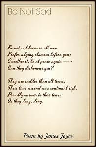 James, Joyce, Poems