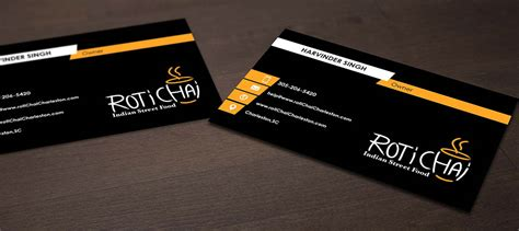 Playful, Modern, Indian Restaurant Business Card Design Business Card Printers Hobart Price Design In Coimbatore Cards Sa Visiting Vizag And Logo Png Free Download Stock Paper Weight