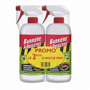 Barrage Aux Insectes Gifi : lot de 2 sprays r pulsifs anti insecte barriere a insectes ~ Dailycaller-alerts.com Idées de Décoration