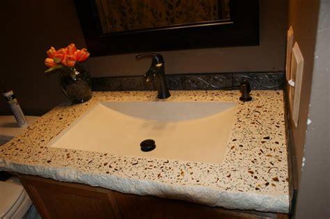 solid wood bathroom bathroom concrete vanity sink portfolio metro