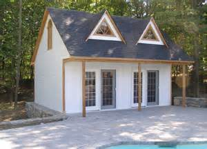 Small 10X20 Pool House Plans