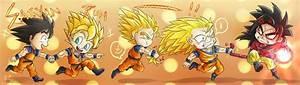 Dragon Ball Z images Goku evolution wallpaper and ...