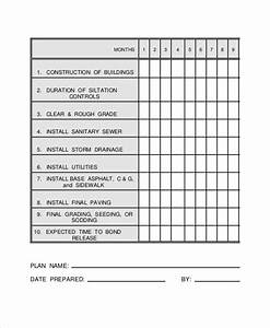 construction work schedule templates 8 free word pdf With building work schedule template
