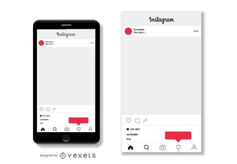 Instagram Post Template Instagram Post Template Vector