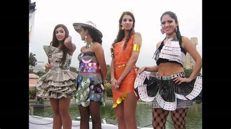 reciclados vestidos disfraces trajes tipicos