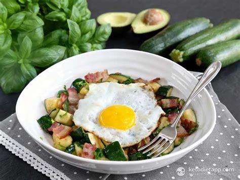 Keto Zucchini Breakfast Hash