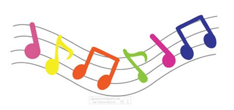 animated clipart musical notes animation