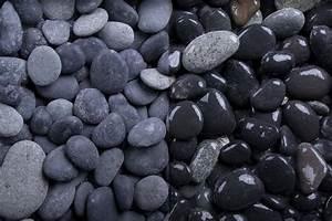 Pflastersplitt Berechnen : zierkies beach pebbles 16 32 mm anthrazit grau ~ Themetempest.com Abrechnung