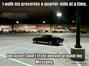 Mustang parking | Mustang humor, Mustang cars, Mustang