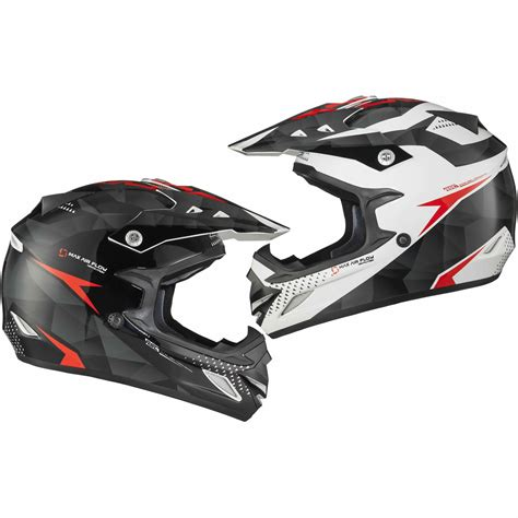 red motocross helmet shox mx 1 shadow black white red motocross helmet quad mx