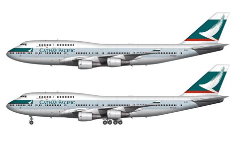air livery templates illustrator cathay pacific 747 400 illustration norebbo