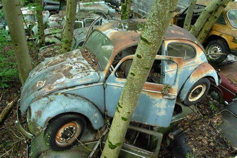 switzerlands kaufdorf vehicle graveyard urban ghosts