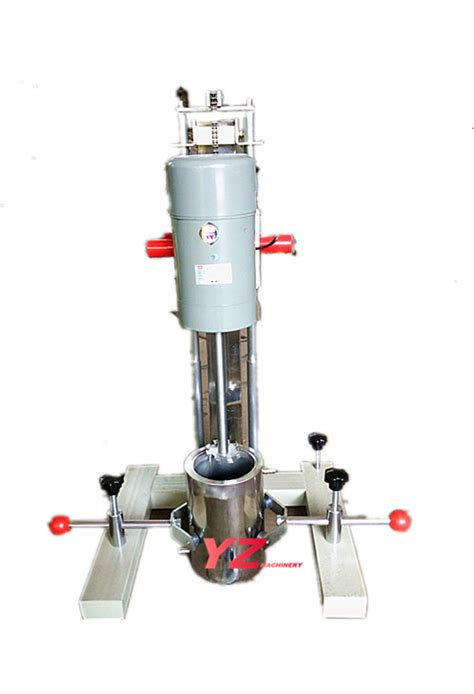 lab high speed dispersion machine for mixing dispersing
