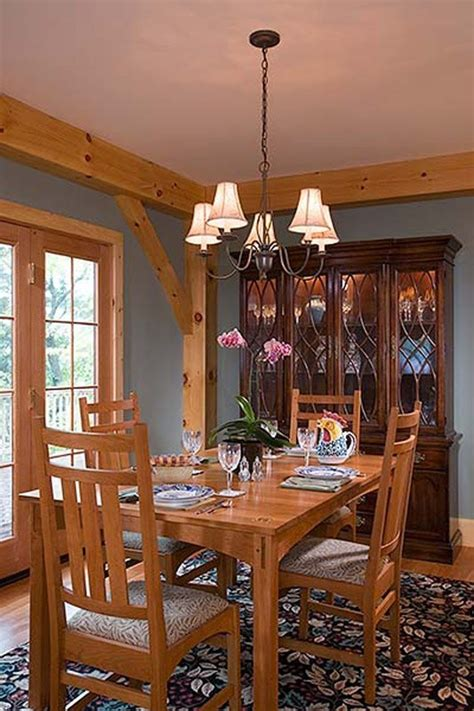 Custom Eastern White Pine Timber Frame Home  Lansing Ny
