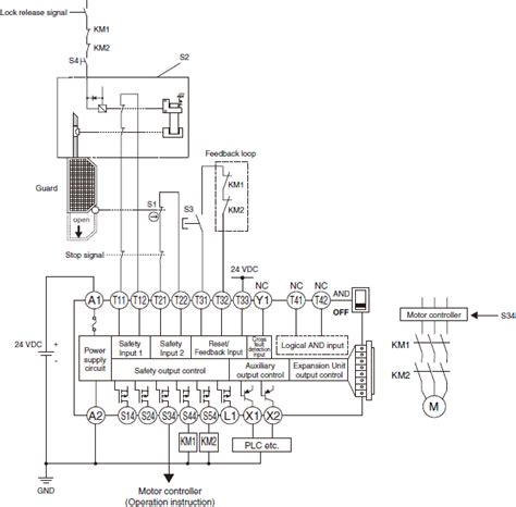 circuit diagrams of safety components technical guide singapore omron ia