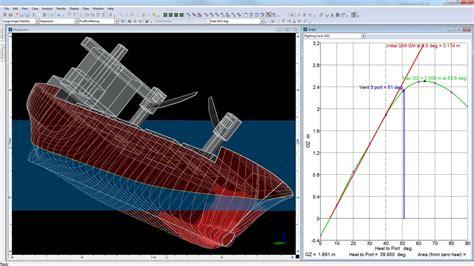Vessel Hull Design, Naval Architecture Software