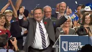 United Conservative Party members select Jason Kenney as ...