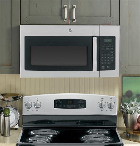 jvmrfss ge  cu ft   range microwave oven stainless steel