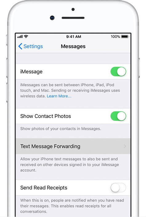 how to send a text on iphone how to forward sms texts on your iphone apple support