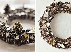 Faire Une Couronne De Noel : la couronne de no l carnets parisiens ~ Preciouscoupons.com Idées de Décoration