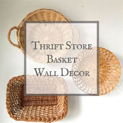 By now you already know that, whatever you are looking for, you're sure to find it on aliexpress. Basket Wall Decor from a Thrift Store - Twelve On Main