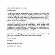 Apology Letter To Lecturer Sample Business Apology Letter 7 Documents In PDF Word Business Apology Letter 7 Download Free Documents In PDF Word Sample Apology Letter 20 Documents In PDF Word