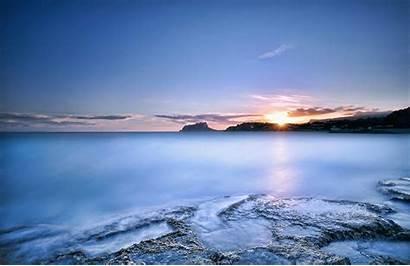 Sea Desktop Ocean Wallpapers Resolution Sunset Wallpapersafari