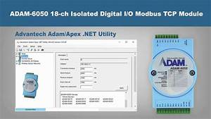 Advantech Adam 6050 18 Ch Isolated Digital Io Modbus Tcp Module Walkthrough