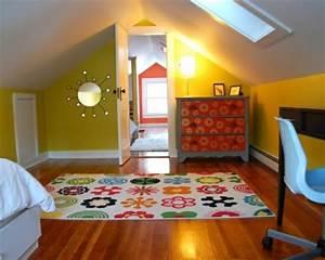Kinderzimmer Streichen Dachschräge : 20 komfortable jugendzimmer mit dachschr ge gestalten ~ Markanthonyermac.com Haus und Dekorationen
